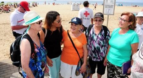 Mayores de San Bartolomé de Tirajana reúnen 200 kilos de comida para Elomar