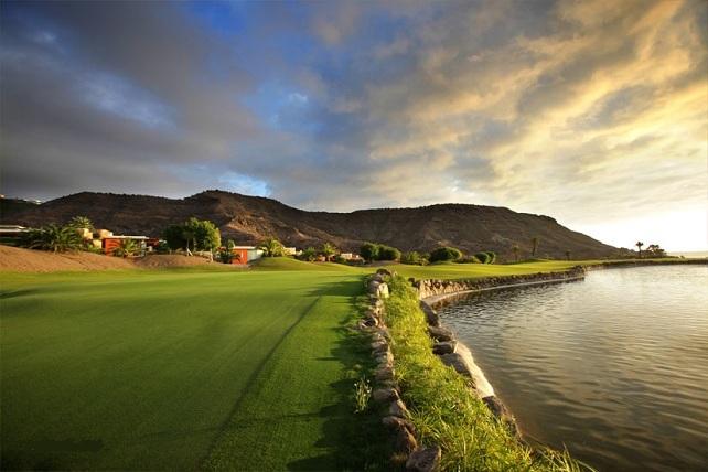Campo de golf de Anfi Tauro, en Mogán, Gran Canaria