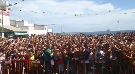 Pozo Izquierdo despide el verano con la mojada de la Fiesta de la Arrancadilla