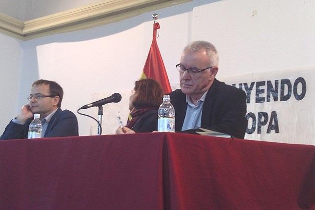 Ramón Trujillo y Cayo Lara, en Las Palmas de Gran Canaria