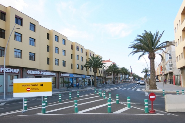Avenida de Canarias, zona de Balos