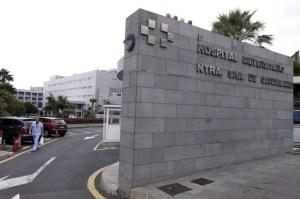 Hospital de La Candelaria, en Tenerife