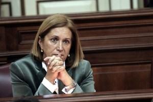Mercedes Roldos, exconsejera de Sanidad del Gobierno de Canarias