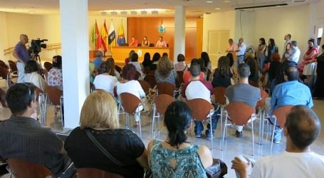 La 1ª fase del Plan de Empleo Social de Santa Lucía da trabajo a 154 personas