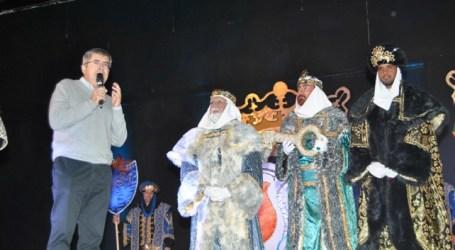 Cerca de 12.000 personas disfrutaron de la Cabalgata de Reyes de Maspalomas