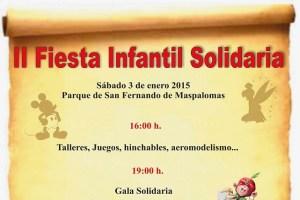 Fista Infantil Solidaria (cartel, detalle)