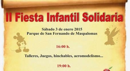 San Bartolomé de Tirajana celebra su II Fiesta Infantil Solidaria