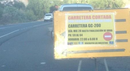 """Ciuca solicita un carril para los residentes durante las """"obras electorales"""" de la GC-200"""