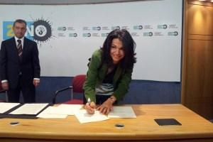 Isabel Santiago, portavoz de NC en el Ayuntamiento de Mogán