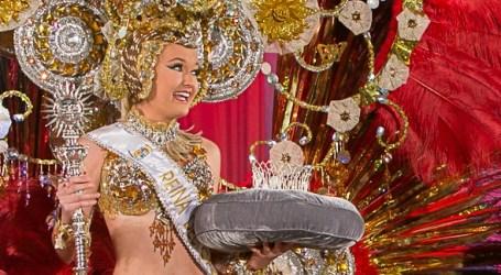 Estefanía Susana González, nueva Reina del Carnaval del Maspalomas