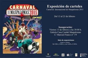 Carnaval de Maspalomas, exposición en la Casa Condal