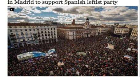 La hostilidad de la prensa española a Podemos contrasta con la sorpresa internacional por el éxito del 31-E