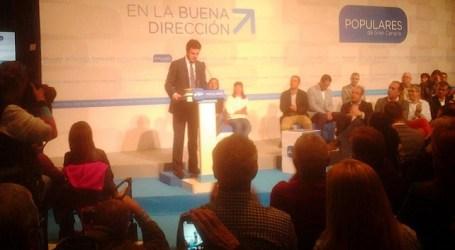 Soria recalca que el PP ha ganado las elecciones sin fomentar el pleito insular