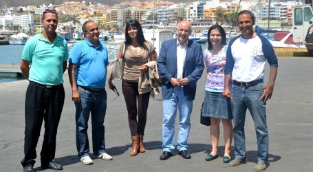 Morales se compromete en Mogán a crear de una sectorial insular en materia de pesca
