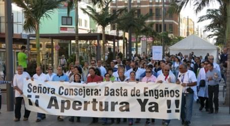 Santa Lucía exige a la consejera que explique sus nuevos planes al Consejo de Salud