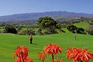 Campo de golf en Gran Canaria