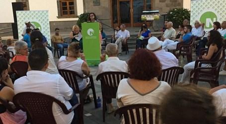 Tunte aplaude las propuestas de cambio y dinamización de Nueva Canarias