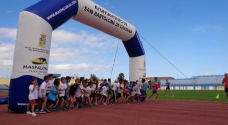 La Escuela Municipal de Atletismo clausura la temporada con una fiesta