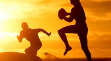 La arena del Inglés se prepara para acoger el 6º Torneo de Rugby Playa Maspalomas