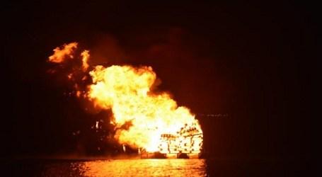 El fuego de las hogueras de San Juan purificó San Bartolomé de Tirajana