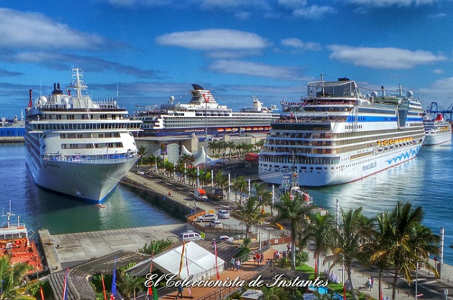 Turismo Canarias, cruceros en Las Palmas