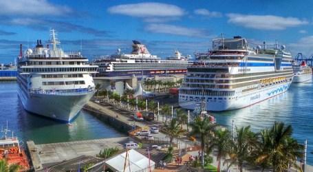 Canarias recibió en 2014 la visita de más de 1.900.000 de cruceristas