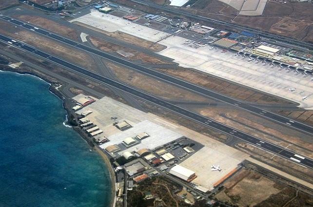 Aeropuerto de Gran Canaria, vista aérea