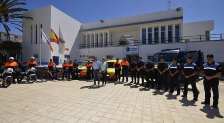 Policía Local y Protección Civil de Maspalomas reciben nuevos vehículos