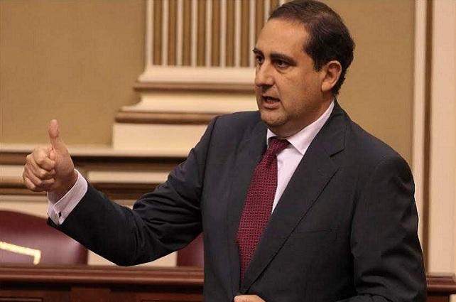Felipe Afonso, portavoz del PP en el Cabildo de Gran Canaria
