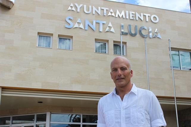 Julio Ojeda Medina, concejal socialista en Santa Lucía de Tirajana