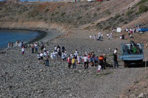 Limpieza de playas, voluntarios (foto: archivo)