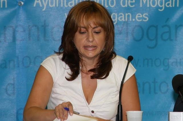 Mari Carmen Navarro Cazorla, portavoz del PP en el Ayuntamiento de Mogán