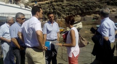 Puertos Canarios colaborará con el Ayuntamiento para mejorar Puerto de Mogán