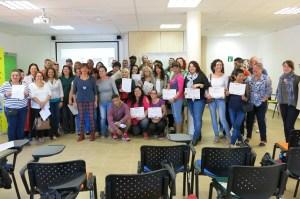 Proyecto Urban, entrega de diplomas