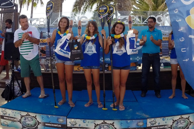 Second Reef Maspalomas, podio infantil