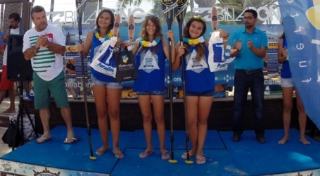 Las surfistas del Second Reef Maspalomas suman éxitos en la 'Fuerteventura Challenge'