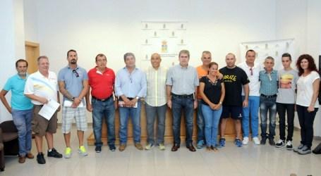 San Bartolomé de Tirajana suscribe convenios con clubes y deportistas del municipio