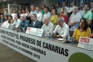 NC y PSOE firman acuerdo para el 20D