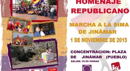 IUC homenajea a las víctimas del franquismo en la Sima de Jinámar