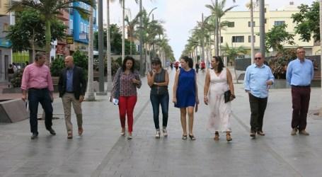 Santa Lucía solicita al Cabildo apoyo para nuevos proyectos de dinamización comercial