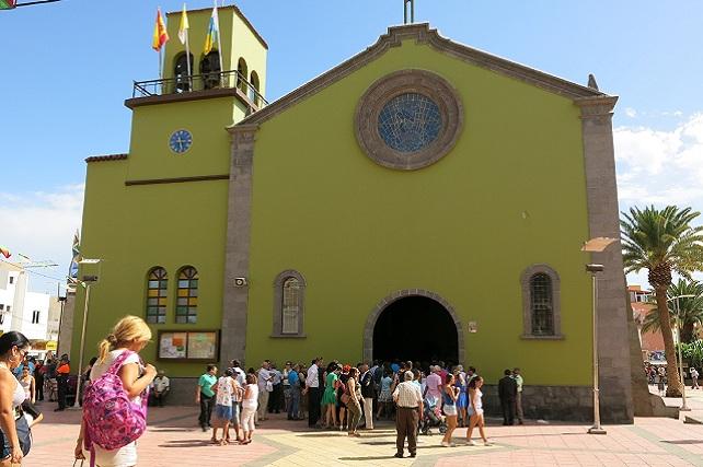 Iglesia de San Rafael, en Vecindario