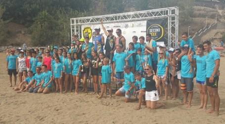 Éxito del club Seconreef en la primera prueba de SUP Race de Playa del Inglés
