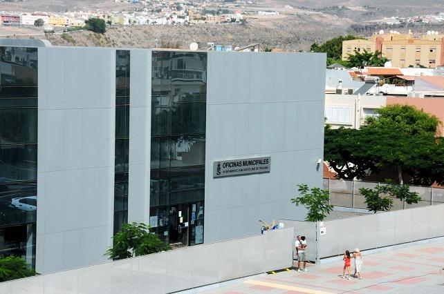 Oficinas municipales del Ayuntamiento de San Bartolomé de Tirajana, en San Fernando de Maspalomas