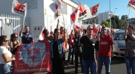 Los trabajadores de 'Los Arcos' rechazan la oferta patronal y continúan la huelga
