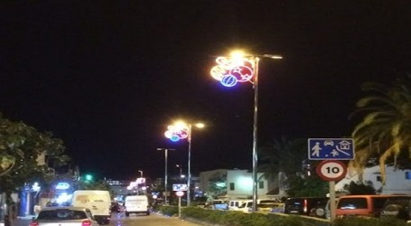 NC califica de 'chapuza' la iluminación navideña de San Bartolomé de Tirajana