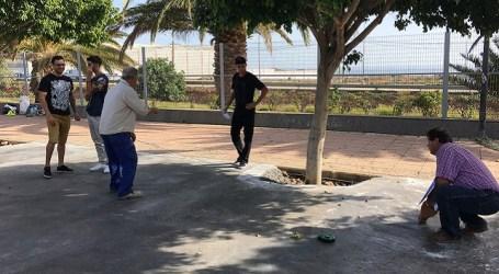 Un grupo de jóvenes santaluceños diseña el nuevo Skateplaza en Doctoral