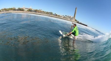 Olas espectaculares colaboraron con el éxito del Open Surf Maspalomas