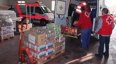 Cruz Roja distribuye en Las Palmas cerca de dos millones de kilos de alimentos