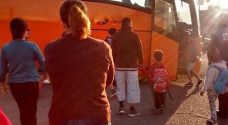 CC de SBT denuncia las condiciones para acceder al transporte escolar en El Salobre