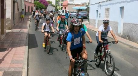 Santa Lucía aumenta de forma espectacular los desplazamientos en bicicleta